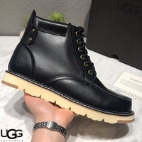 Free shipping-UGG retro men's tooling boots #1