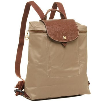 Longchamp Le Pliage Foldable Backpack Beige MSRP LC LON089/1699-841  $125