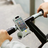 Bike Horn Stand Blue (Portable Audio/Cellular Accessories)