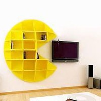 Pac-Man Bookcase ? Funny, Bizarre, Amazing Pictures & Videos