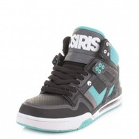 Osiris Rucker Skate Trainers - Black Charcoal