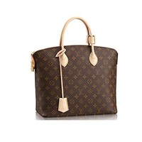 Louis Vuitton Monogram Canvas Lockit MM M40606 Tote Handbag Made in France