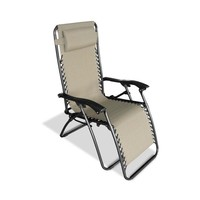 Caravan Canopy Beige Zero-Gravity Chair | Overstock.com Shopping - The Best Deals on Camp Furniture