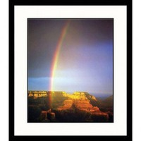 Great American Picture Rainbow Over Grand Canyon Framed Photograph - IS340154 - Decor