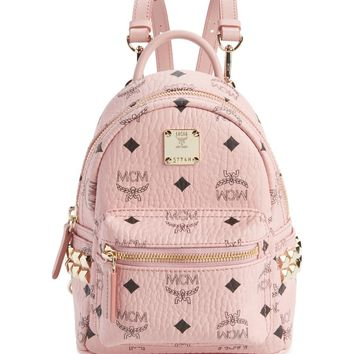 MCM 'X-Mini Stark Side Stud' Convertible Backpack | Nordstrom