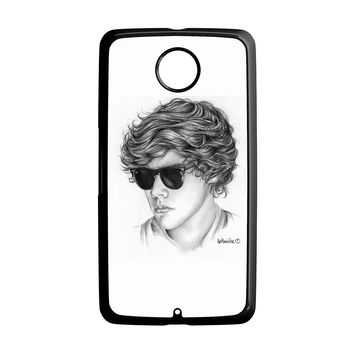One Direction Harry Styles Art Pencil Nexus 6 Case