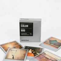 Impossible PX 680 Color Shade Instant Film- Silver One