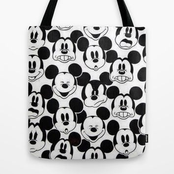5178c8b573 Mickey Mouse Tote Bag by Pink Berry Pattern