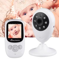 Baby Monitor Security Camera 2.4GHz Wireless Digital LCD Color Baby Nanny Security Camera Night Vision Temperature Monitoring