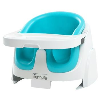 Ingenuity Baby Base 2-in-1 Booster Seat - Aqua