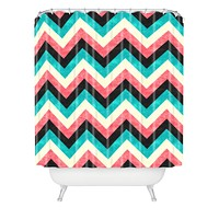 Jacqueline Maldonado Chevron Bold Shower Curtain