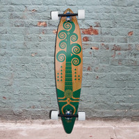 "Bamboo Pintail Wacah Chan 44"" Longboard - Complete"