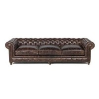 Finn Leather Chesterfield Sofa