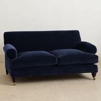 Willoughby Settee, Hickory by Anthropologie