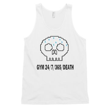 GYM 24/7/365/DEATH Classic tank top (unisex)