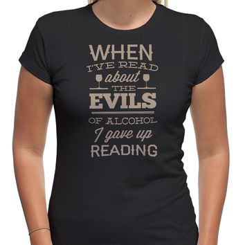 Evils Alcohol Reading