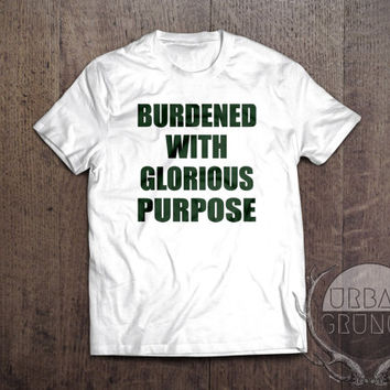 burdened with glorious purpose tshirt- unisex tshirt- loki tshirt-tom hiddleston tshirt-loco for loki-tom hiddleston tshirt-loki tshirt-loki