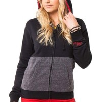 Women's Addiction Fleece Hoodie - Black