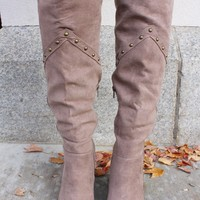 Stand Tall Boots- Multiple Colors