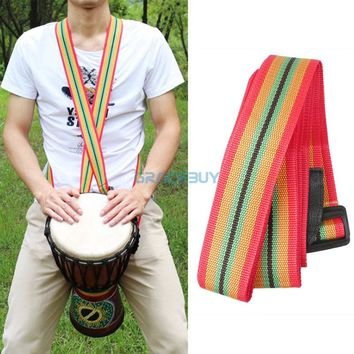 Mr.Power African Hand Drum Strap Nylon Colorful Djembe Strap for Drummer