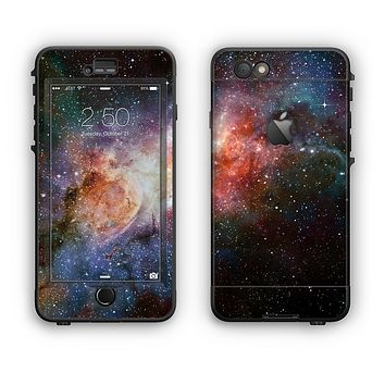 The Mulitcolored Space Explosion Apple iPhone 6 Plus LifeProof Nuud Case Skin Set
