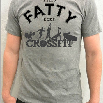 OOTD Outfit of the Day Trendy Unisex Crossfit T-Shirt, Unisex Workout Athletic T-Shirt, Instagram Fashion, Tumblr Teen Fashion, Fatty Does