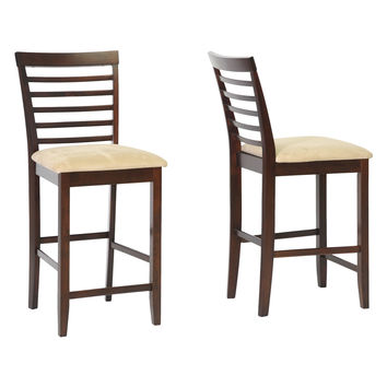Design Studios Kelsey Counter Stools (Set of 2) - Brown
