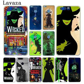 Lavaza Broadway Musical Wicked Lyrics Hard Case for Huawei Y6 Prime Y5 II 2018 Y7 2017 Honor play 10 9i 8 9 Lite 7C 7X 7A Pro