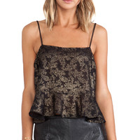 SAM&LAVI Lana Tank in Black