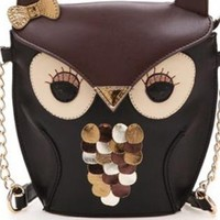Cute Owl Crossbody Bag