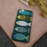 Five fish iPhone 6 6s 6 Plus 6s Plus Case + Nice gift box 71501