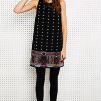 Staring at Stars Paisley Border Dress at Urban Outfitters