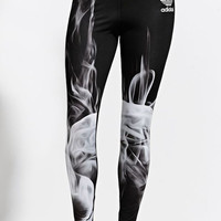 Adidas Rita Ora White Smoke Leggings - Womens Pants - Black
