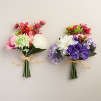 Mixed Floral Bunches, Set of 2