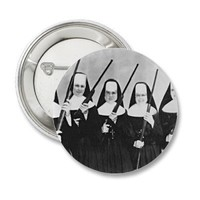 Nuns With Guns Pinback Buttons from Zazzle.com