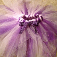 Sparkle tutu skirt. Purple pink wedding dress up party birthday photos barbie princess tulle tutu tulle skirt toddler baby girl
