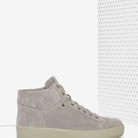 Alexandra Suede High Top Sneakers