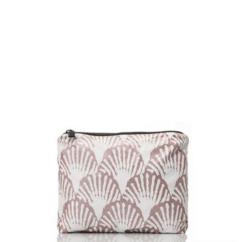 ALOHA Collection - Small Shells Pouch | Rose Gold