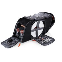 SheilaShrubs.com: Harley-Davidson Saddlebag Picnic Cooler Set - Black 435-42-175-004-7 by Picnic Time: Coolers & Cooler Totes