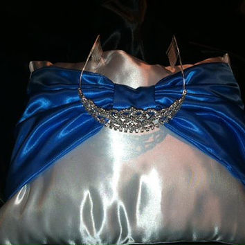 Satin Ring Bearer Wedding/ Sweet 16 pillow