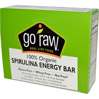 Go Raw, Organic Spirulina Energy Bars, 10 Bars, 14 g Each - iHerb.com