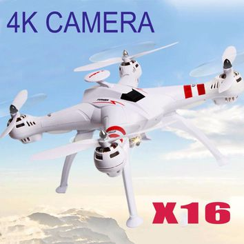 X16 RC Helicopter Brushless Motor 2.4G 4CH 6Axis FPV Quadcopter