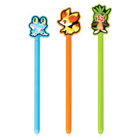Power A Pokémon Triple Play Stylus Kit - Blue/Orange/Green (Nintendo 3DS)