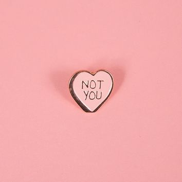 Rosehound Apparel Not You Pin - Everything - Categories - Womens