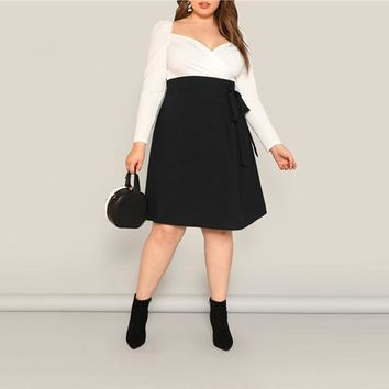Black High Waist Skirts