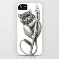 Philippine Tarsier G2012-047 iPhone Case by S-Schukina | Society6