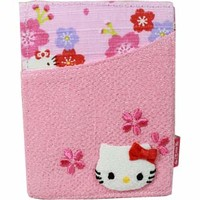 Pink SAKURA Hello Kitty Card Case