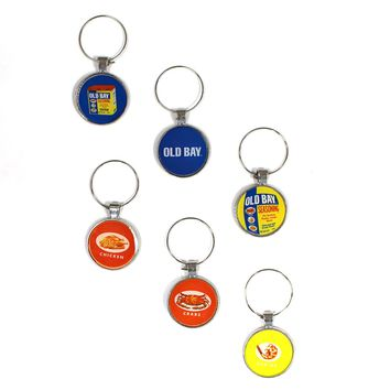 Old Bay Wine Charms (Set of 6)