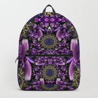 Flowers from paradise in fantasy elegante Backpack by Pepita Selles