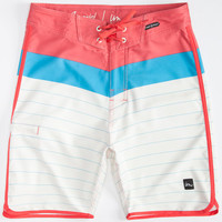 Imperial Motion Hayworth Mens Boardshorts Red  In Sizes